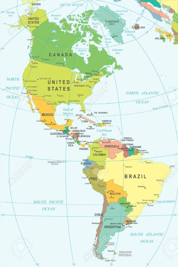 48880946-north-and-south-america-map-illustration-colored-and-grid-